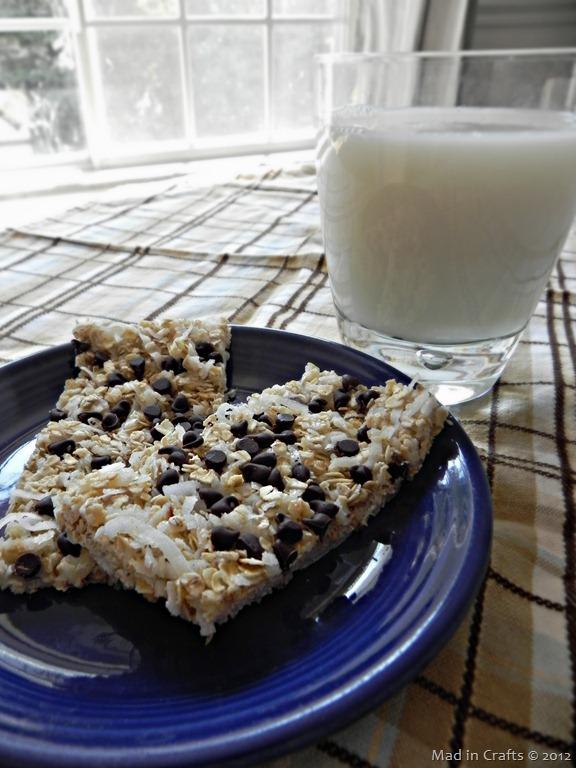 """Chewy"" Chocolate Coconut Bars"