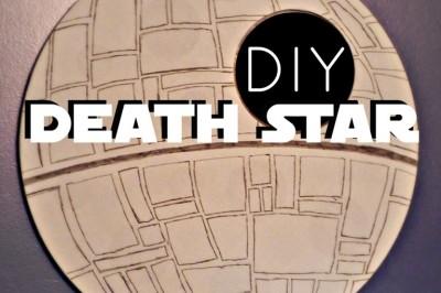DIY Death Star Mirror