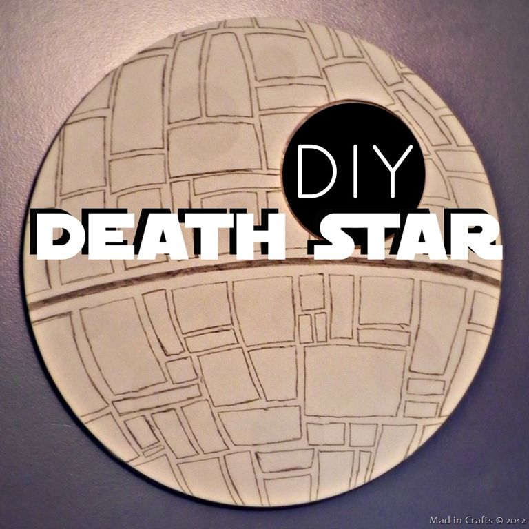 DIY Death Star Mirror
