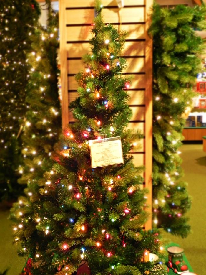 bronners wall tree