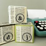 Stamped Typography Blocks for PSA Essentials
