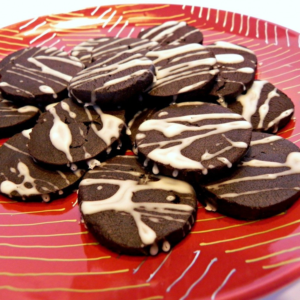 Nutella-Inspired Chocolate Hazelnut Shortbread Cookies