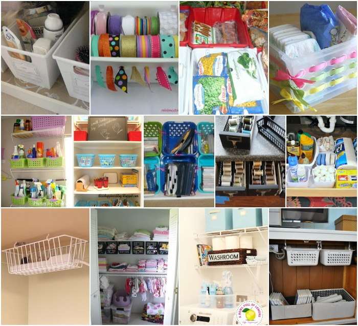 Organize Your Whole House with One Trip to the Dollar Store ... on dollar store classroom organization, dollar tree bathroom organization, dollar tree pantry organization, dollar tree baskets,