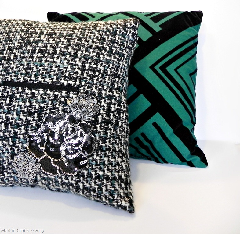 Easy Sewing: Basic Throw Pillows