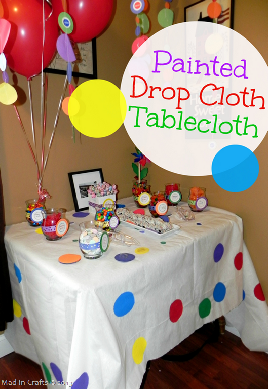 Groovy Diy Party Candy Bar On A Budget Mad In Crafts Beutiful Home Inspiration Papxelindsey Bellcom