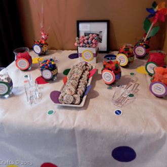 DIY Party Candy Bar on a Budget