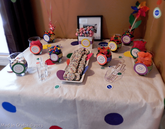 Amazing Diy Party Candy Bar On A Budget Mad In Crafts Beutiful Home Inspiration Papxelindsey Bellcom