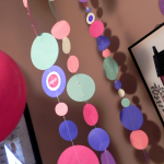 Sew an Easy Polka Dot Paper Garland