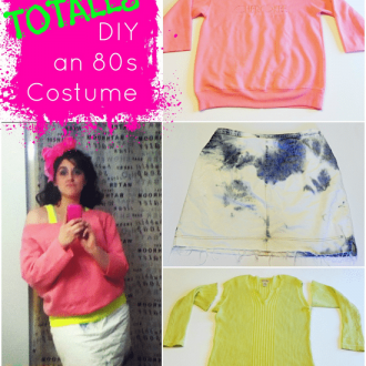 Totally DIY an 80s Costume
