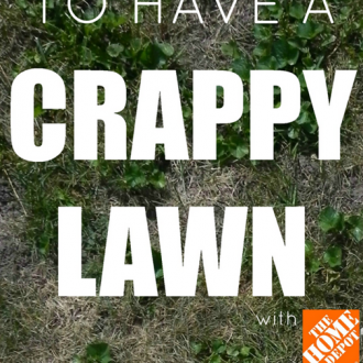 How NOT to Have a Crappy Lawn: Researching Products