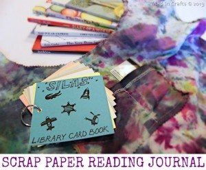 childs reading journal and tote bag