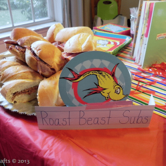 Dr. Seuss Party Food