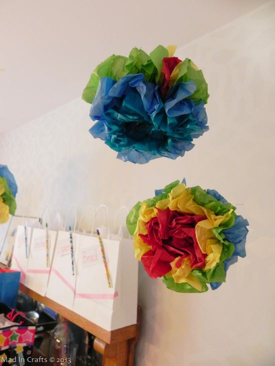 how to make seuss party pom poms mad in crafts
