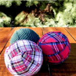 Plaid Rag Spheres