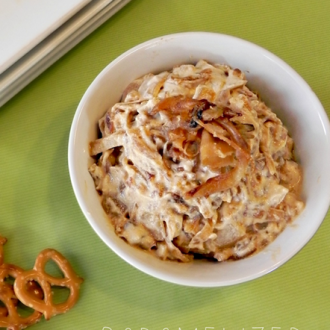 Lightened Caramelized Onion Dip