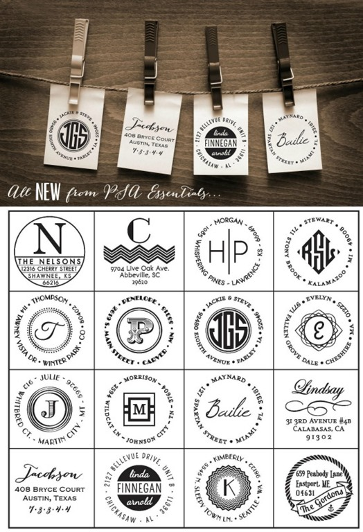 New Psa Essentials Personalized Stamps Mad In Crafts