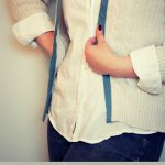 Dress Up a No-Sew Cardigan with Duck® Fabric Tape