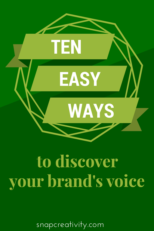 Your Voice and Your Brand