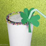 Homemade Shamrock Breakfast Shake