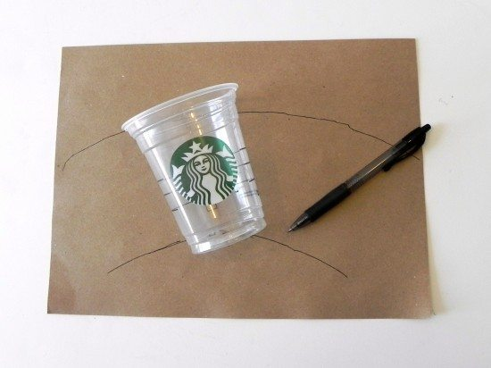 trace Starbucks cup