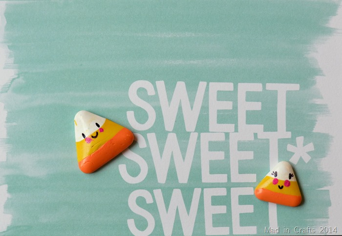 Cute Clay Candy Corn