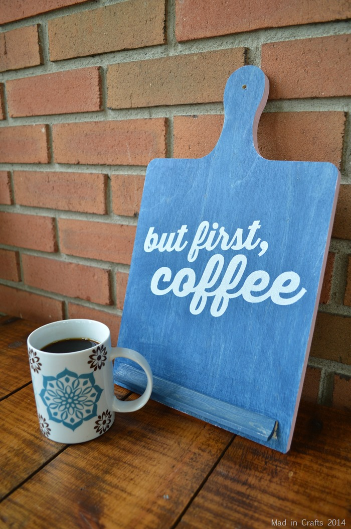 DIY But First Coffee Sign