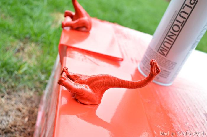 Plastic Animal Bookends Dinosaur