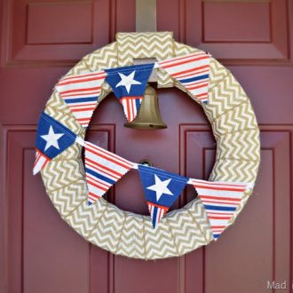 15 MINUTE PATRIOTIC BUNTING (AND OTHER PATRIOTIC CRAFTS & RECIPES)