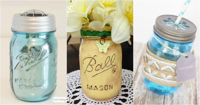 14 MASON JAR CRAFT VIDEO TUTORIALS
