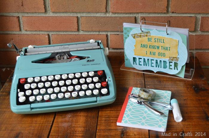 Heidi Swapp Desk Calendar