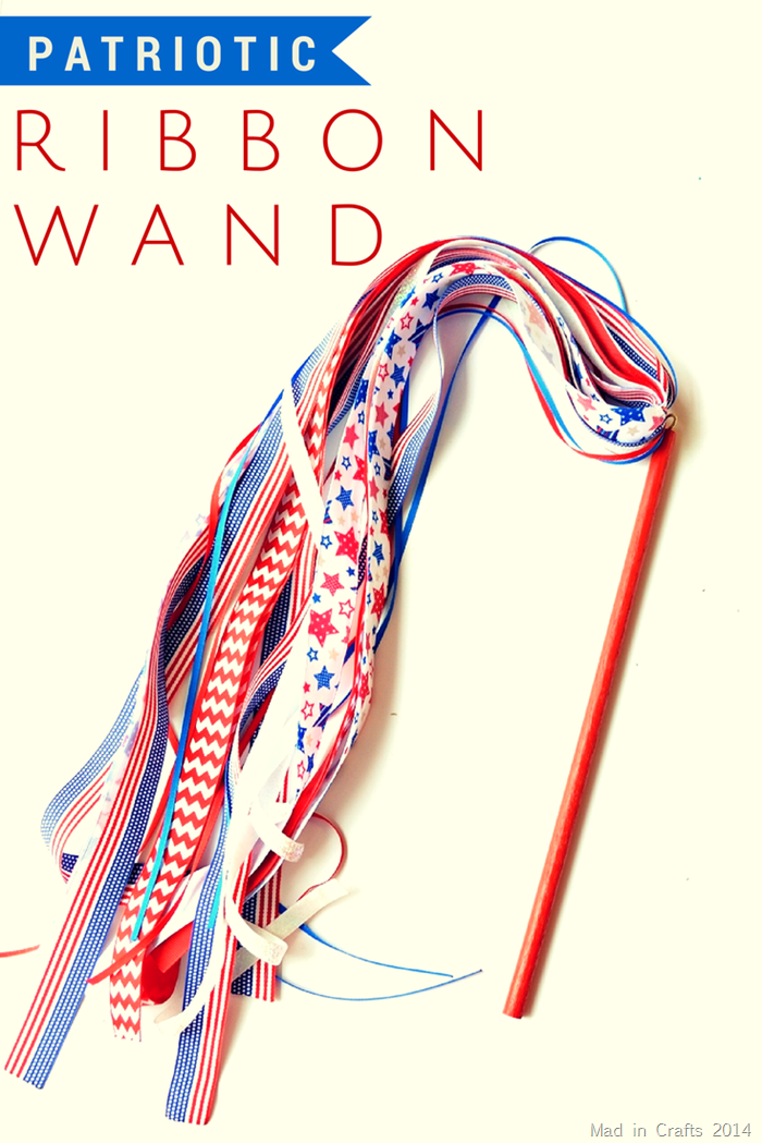 Patriotic Ribbon Wand Tutorial
