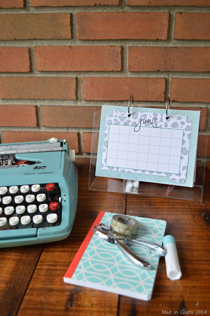Standing Desk Calendar with Heidi Swapp