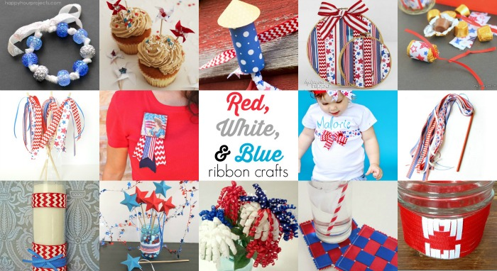14 RIBBON CRAFTS FOR THE 4TH OF JULY