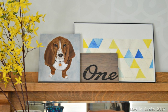 Basset Hound Painting by Just Paint It Pet Portraits