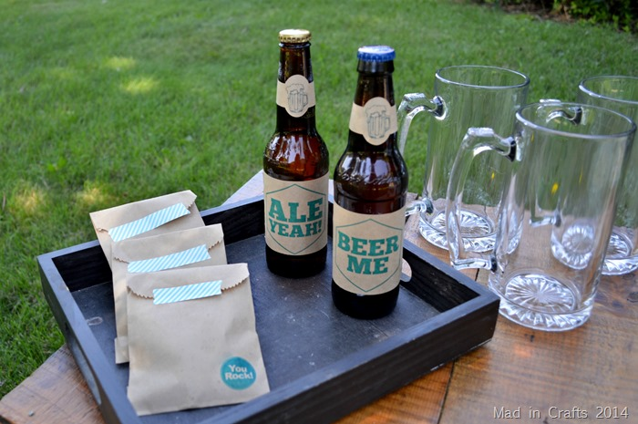 Beer Party Favors