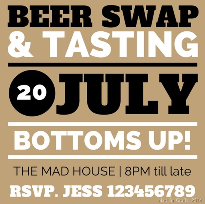 Beer Swap Invite