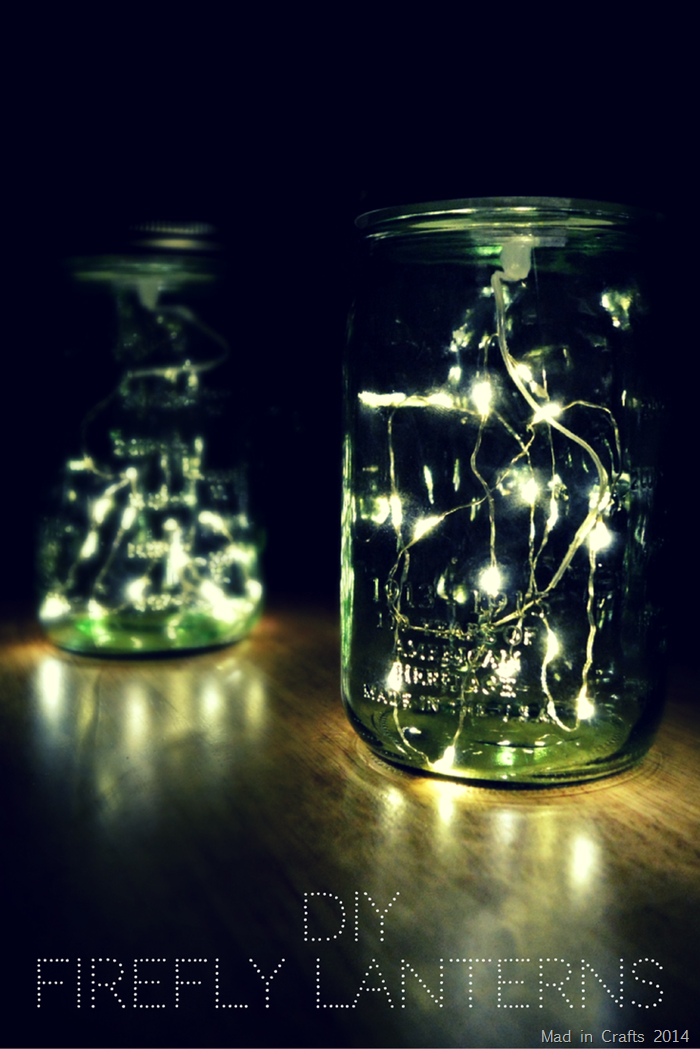 Firefly Mason Jar Crafts | Method #2: DIY Mason Jar Firefly Lamp (with LED Lights)