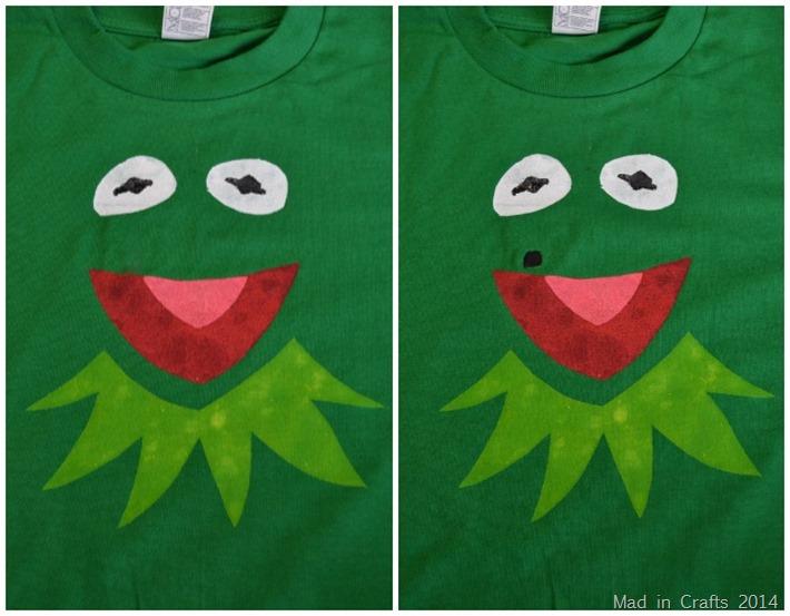 DIY KermitConstantine Shirt