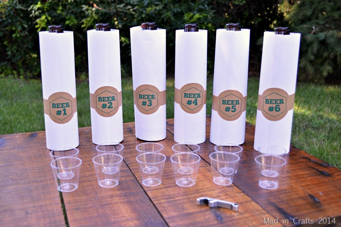 BEER PARTY TASTING GAME
