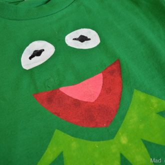 """ARE YOU SURE THAT'S A KERMIT SHIRT? """"MUPPETS MOST WANTED"""" CRAFT"""