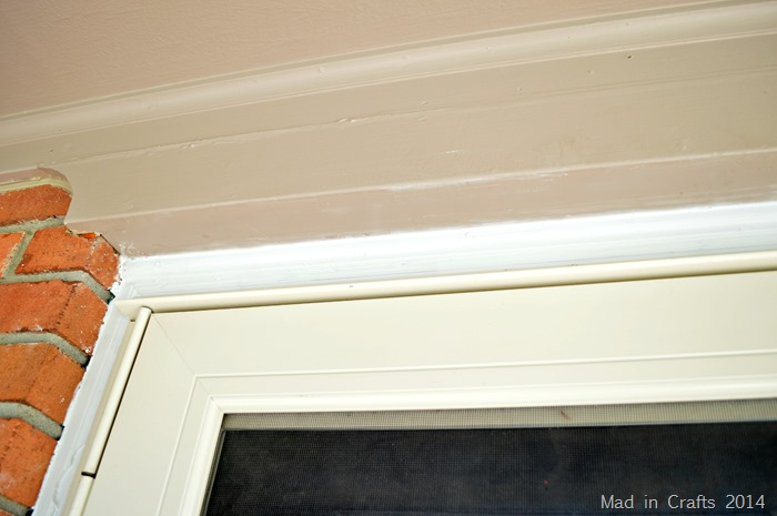 Painted Door Trim