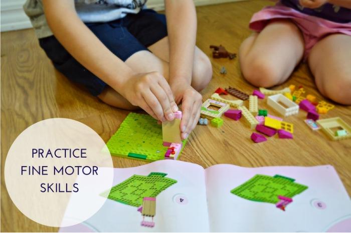 Lego Juniors Fine Motor Skills