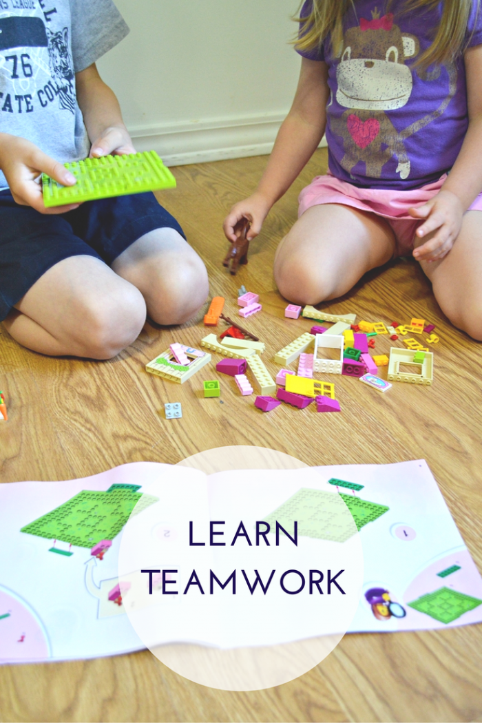Lego Juniors Teamwork