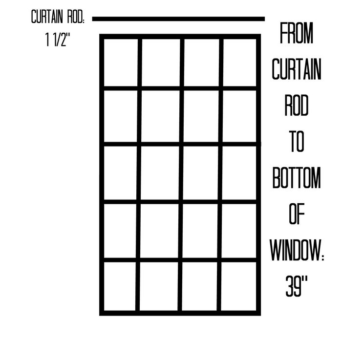 curtain measurements