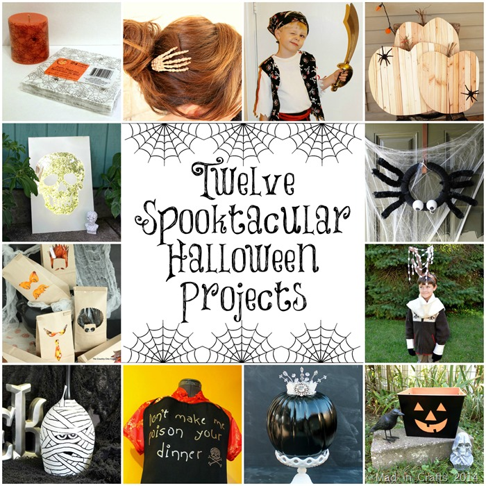 12 Halloween Projects