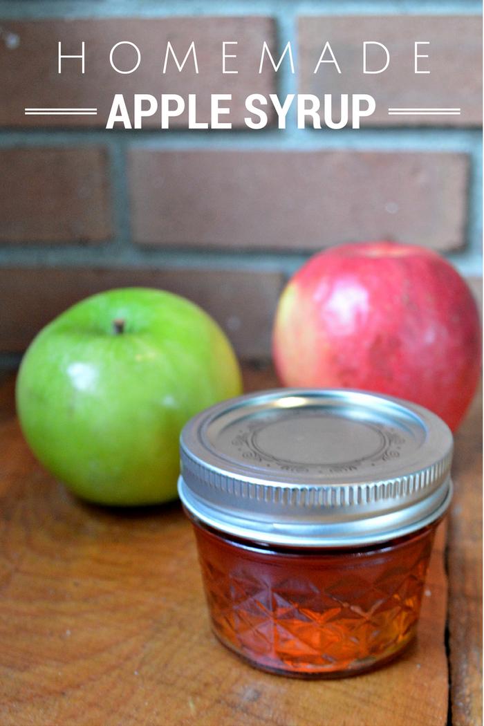 Homemade Apple Syrup Recipe