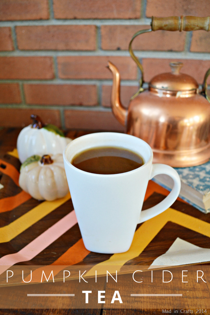 Pumpkin Cider Tea Recipe