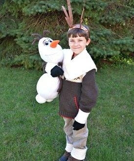 HOMEMADE FROZEN COSTUME: SVEN THE REINDEER