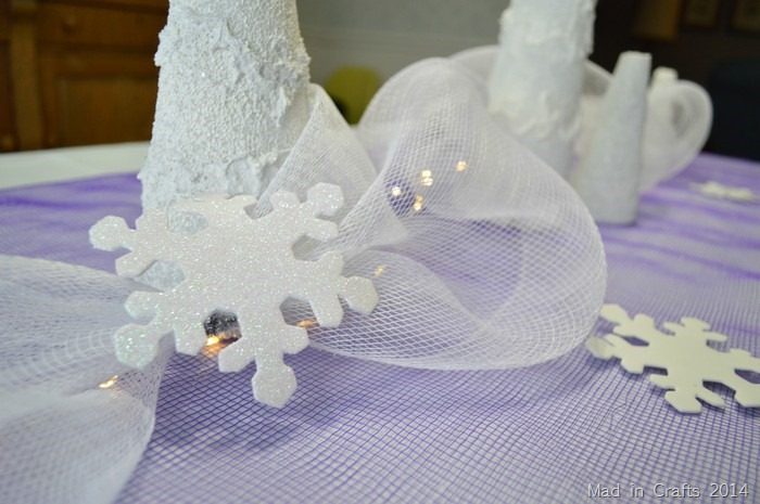 Decorator Mesh for Frozen Party