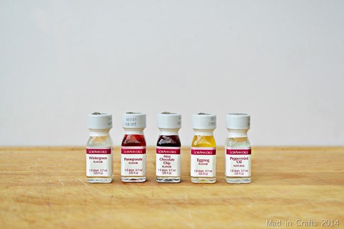 Flavor Oils in Salt Scrub